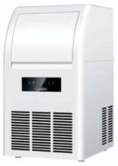 Automatic Portable Fast Cooling Low Power Compact Ice Machine , Small Ice Making Machine Air Cooled Cooling Way,25kg/24h