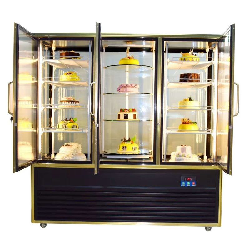 Fan Cooling Low Noise Low Power High Quality Multi-use Cake Showcase With Digital Temperature Controller