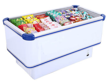 Manual Defrost 535L Commercial Chest Freezer Dengan Sistem Pendinginan Statis